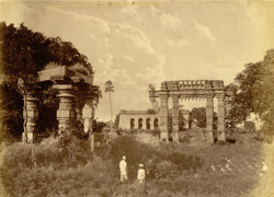 Gateway & part of temple ruins [Warangal, Hyderabad]
